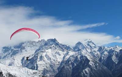 Paragliding High Altitude Flight Course