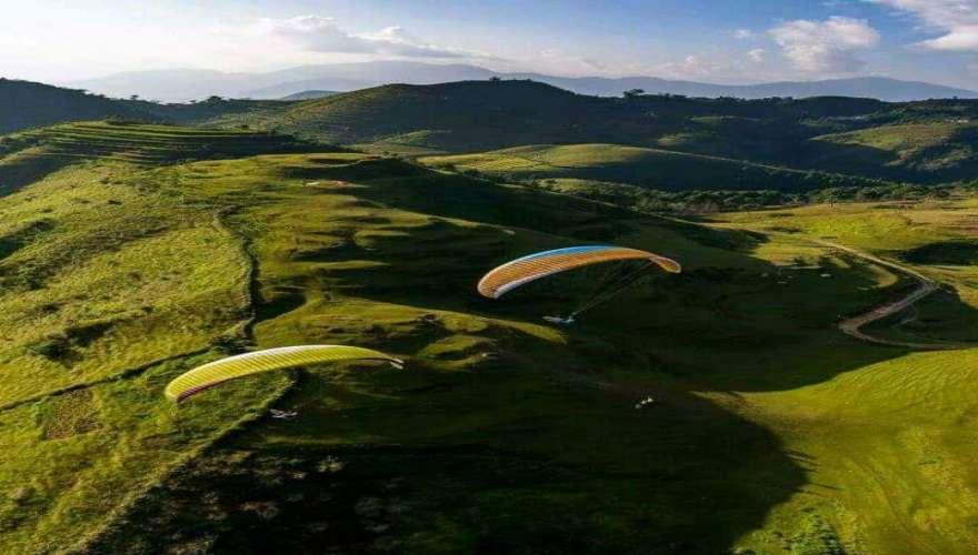 Rafting/Kayaking & Paragliding (solo)