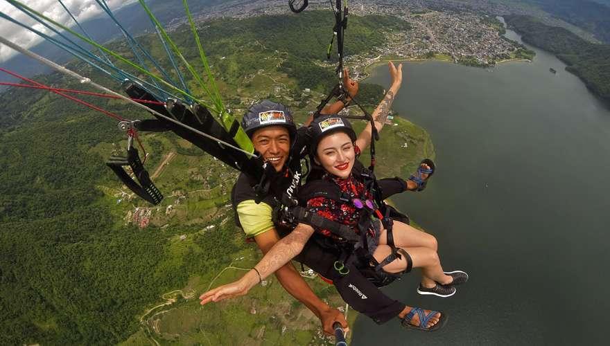 Tandem Flight in Pokhara