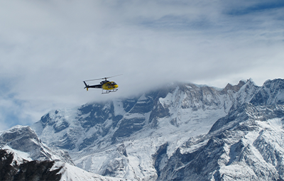 Helicopter babu adventures fly nepal