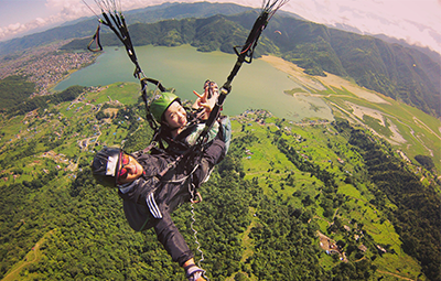 Tandem Flight in Pokhara