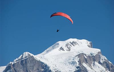 Trekking, Kayaking & Paragliding (solo)