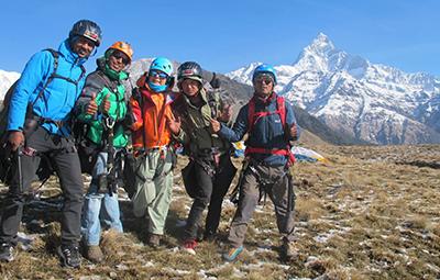 Trekking, Kayaking & Paragliding (tandem)